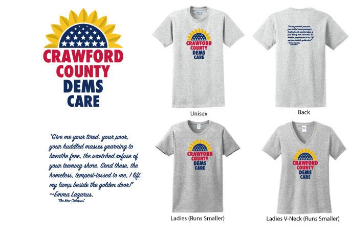 CCD - Crawford County Democrats Shirts