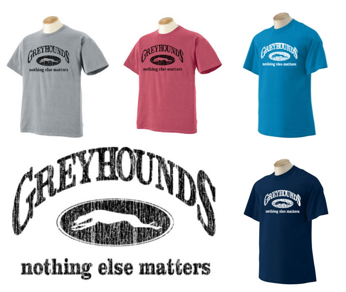P-14 - Greyhounds Nothing Else Matters Unisex T-Shirt (P14)