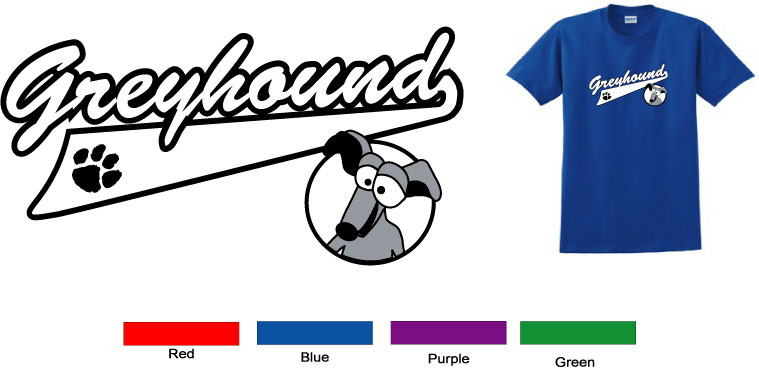 P-7 - Tailor Greyhound Youth T-Shirt