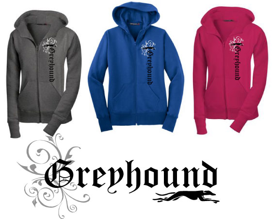 RG-3 - Greyhound Olde English Hoodie