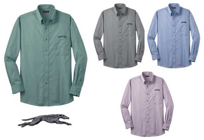 RH66 - Men's Greyhound Dress Shirt