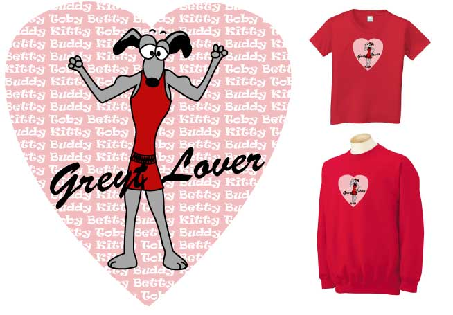 PV-4 - PERSONALIZED Greyt Lover Tailor T-Shirt