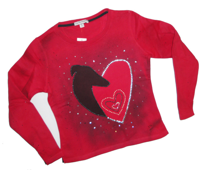 Heart Sweatshirt  # 2 - Heart Sweat Shirt  # 2