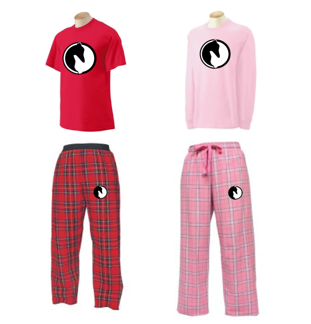 P-10 - Yin Yang Greyhound Jammie Set (P10)
