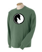 P-10 - Yin Yang Greyhound Long Sleeve T-Shirt (P10)