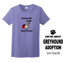 P-16 - Greyhounds Need Homes Ladies T-Shirt (P16)