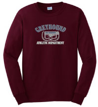 P-18 - Greyhound Athletic Department Long Sleeve T-Shirt (P18)