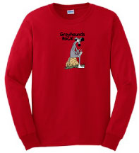 P-2 - Greyhounds Rock Long Sleeve T-Shirt (P2)