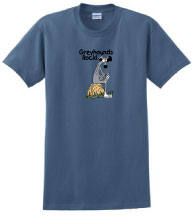 P-2 - Greyhounds Rock T-Shirt