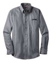 RH64 - Men's Greyhound Striped Dress Shirt
