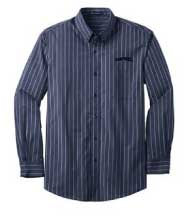 S643 - Men's Greyhound Striped Dress Shirt